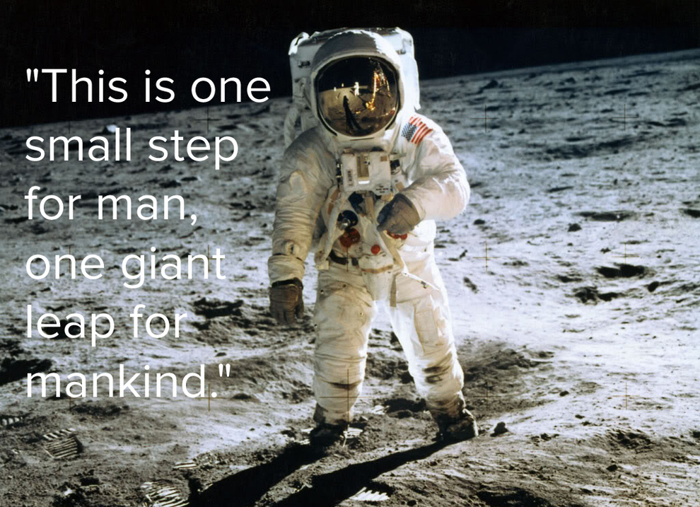 Apollo 11: Man's First Step Onto the Moon screening ... |Moon First Step Onto